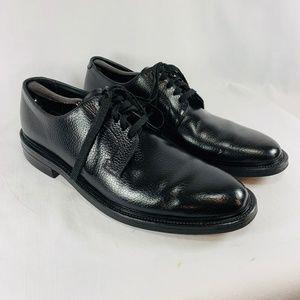 Black Leather Oxfords Dress Shoes - Men's 12 C